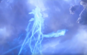 震撼3D龙出场视频炫酷特效视频