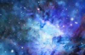 璀璨星空粒子光效背景视频