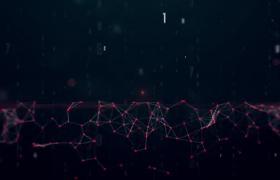 点线高科技未来动画展示AE模板