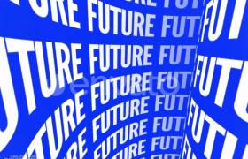 個性創意字體動畫特效宣傳視頻AE模板