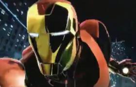 漫威系列连环画样式的视频出现在眼前AE模板