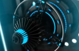 炫酷未来科技展示徽标logo动画AE模板