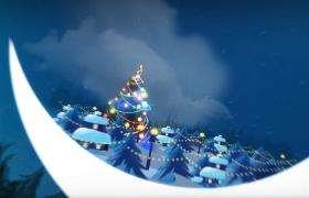 浪漫温馨圣诞中秋之夜宣传活动视频模板