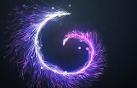 多彩三維線條動態演繹不同形態動畫視頻AE模板