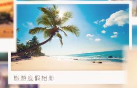 精美旅游度假相册多转场切换照片演示AE视频模板