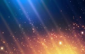 �{身上不停�コ錾�背景下的金色粒子�W耀著的背景��l素材
