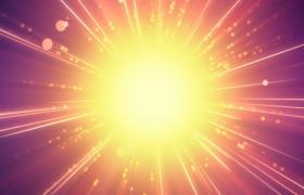 像太阳一样的耀眼光芒视频素材