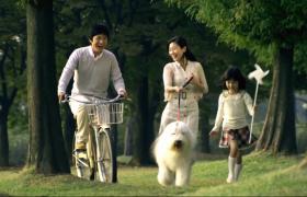 一家人幸福生活商場購物實拍視頻