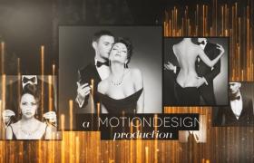 奢華大氣的電影頒獎典禮包裝視頻AE模板