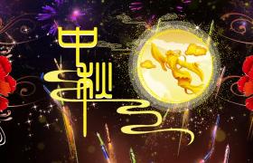 大气的中秋节晚会舞台背景视频素材