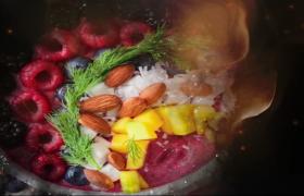 色泽诱人的美食包装视频AE模板