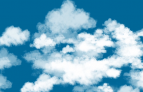 ?穿梭在成片的白云之中实拍视频素材