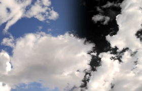 美丽的蓝天白云高清实拍视频素材
