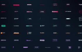 50種特色的現代標題展示premiere模板