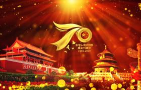 ?大氣奢華的亮片國慶節背景視頻素材