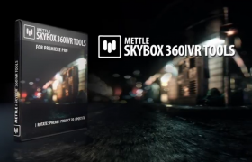 360°全場景VR轉場特效插件Mettle SkyBox 360/VR Transitions Packs 1&2 v1