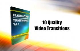 64位特效转场插件合集-Transition Pack破解版PR视频制作插件下载