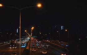 【延时摄影视频】黄昏下城市房屋天空变化延时摄影视频
