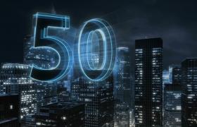 3D倒计时视频——震撼的3D城市60秒特效倒计时视频
