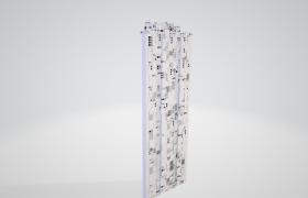 未來科技3D高樓建筑模型資源下載(不含模型貼圖)