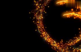 火焰粒子特效唯美演绎logo宣传网站宣传动画开场演绎会声会影模板