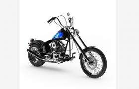 带N2O助燃气的现代简约机动摩托?#31561;?#32500;FBX模型下载