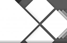 创意旋转正方形遮罩前景影视后期AE相册模板遮罩动画叠加素材