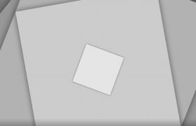 方块旋转快速照片凸显展示动画框架前景特效素材