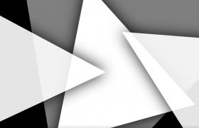 三角形遮罩浮动显出视频影视动画前景遮罩特效素材
