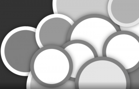 圆形遮罩快速绽放影视动画视频后期特效制作视频素材
