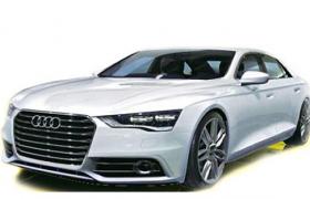 低调奢华的奥迪A8商务汽车三维FPX格式模型
