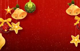 闪烁摇晃喜庆卡通圣诞节特效视频模板