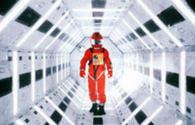 Octane太空舱中奔跑的宇航员动画c4d模型下载