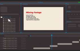 实用AE脚本快速素材重新关联工具AAF Relinker V1.0下载