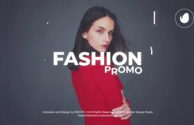 AE模板最新个性时尚的人物展示宣传片