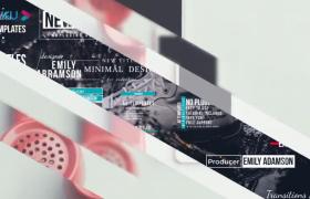 一百多款炫酷彩色遮罩视频转场过渡预设文字标题设计包Transitions Pack下载