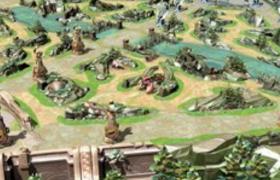 c4d地图模型王者荣耀5V5王者峡谷3D模型