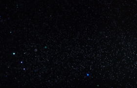 魔法粒子星光闪烁特效后去渲染背景视频素材