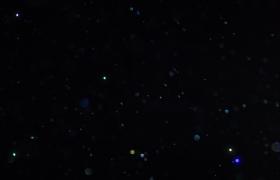 三十秒星光粒子纷飞视频前景LED舞台背景特效附加视频素材