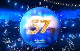 新年除夕夜派對倒數計時視頻素材