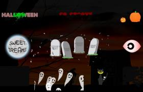 可爱恐怖的万圣节标题汇集展示AE模板