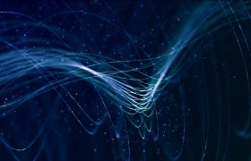 唯美光效线条粒子特效影视动画舞台背景素材