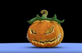 恐怖的万圣节开场视频动画素材下载