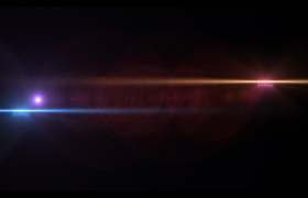 ?熱情奔放水彩個性風格視頻展示Pr模板