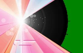 粉红时尚图文展示旋转转场pr模板