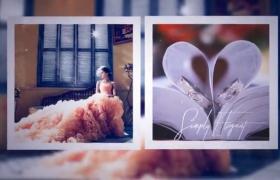 优雅浪漫的婚礼相册展示AE素材模板