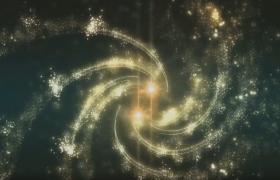 光效粒子汇聚爆炸演绎企业logo宣传主题会声会影模板