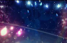 灯光闪耀炫酷时尚的酒吧夜场背景视频素材