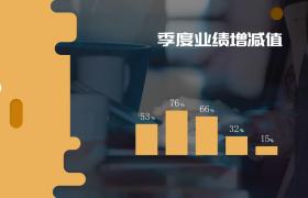 清晰透彻的公司企业商务图表AE模板展示