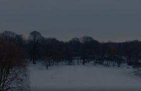 唯美冰雪世界城市雪景視頻素材